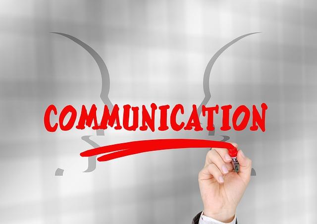 Communicationの文字