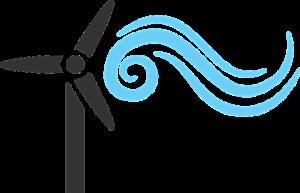 風車のイラスト